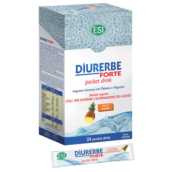 Picture of Diurerbe Forte pocket drink Ananas/ Melograno
