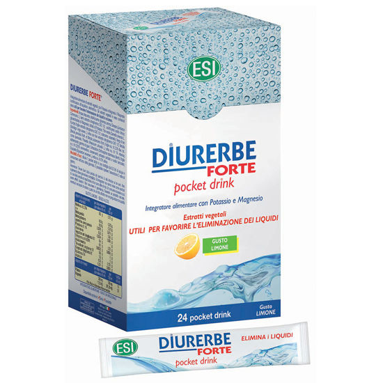 Picture of Diurerbe Forte pocket drink Limone