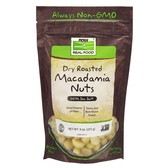 Picture of Macadamia Nuts, Dry Roasted & Salted