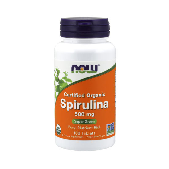 Picture of Spirulina 500 mg Tablets, Organic