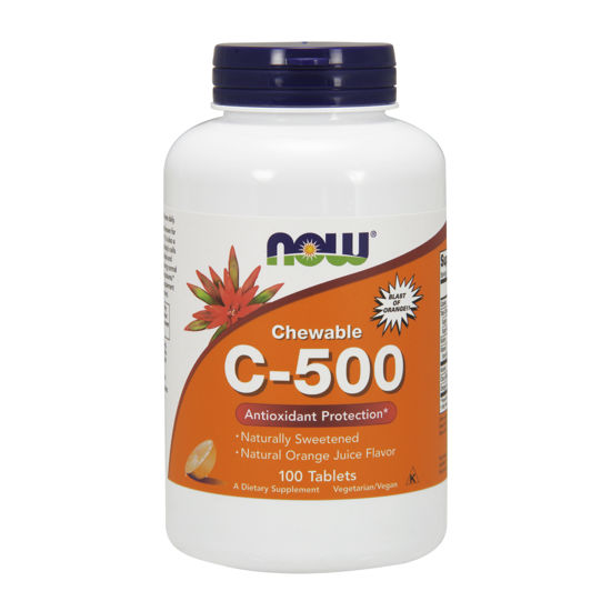 Picture of Vitamin C-500 Orange Chewable Tablets