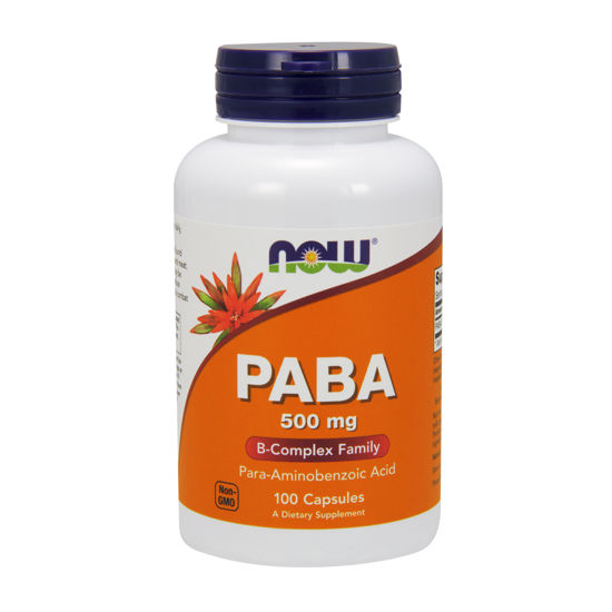 Picture of PABA 500mg Capsules